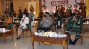 Brigjen TNI Ibnu Bintang Setiawan hadiri peringatan Harkitna di Kepatihan. Foto: nyatanyacom/istimewa