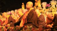 Perayaan Waisak di Candi Borobudur. Foto: nyatanya.com/ Humas Pemprov Jateng