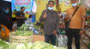 Kios percontohan di kompleks Pasar Kowen Sidokarto. Foto: Nyatanya.com/Sulis