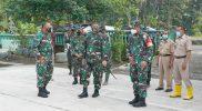 Kedatangan Danrem Pamungkas disambut langsung Dandim Magelang. Foto : nyatanya.com/istimewa