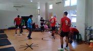Pemain PSS saat menjalani fisioterapi. Foto: nyatanya.com/UNISA