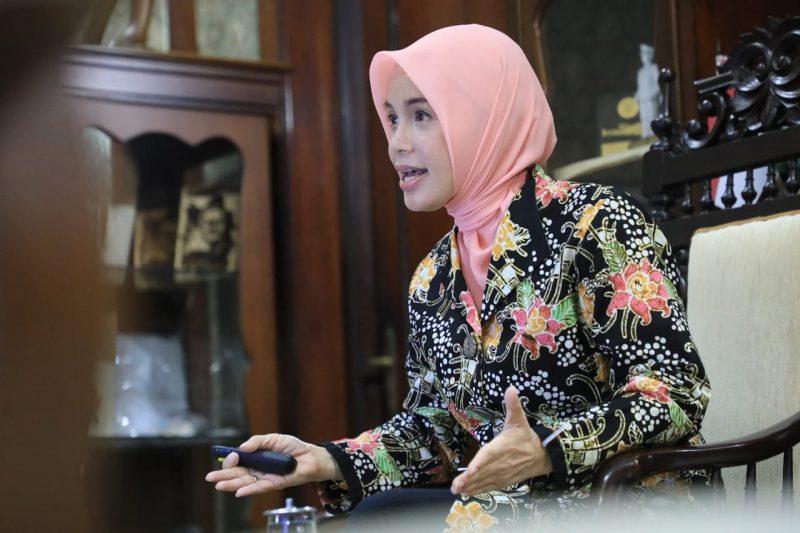 Atikoh Ganjar Pranowo. (Foto:nyatanya.com/Diskominfo Jateng)