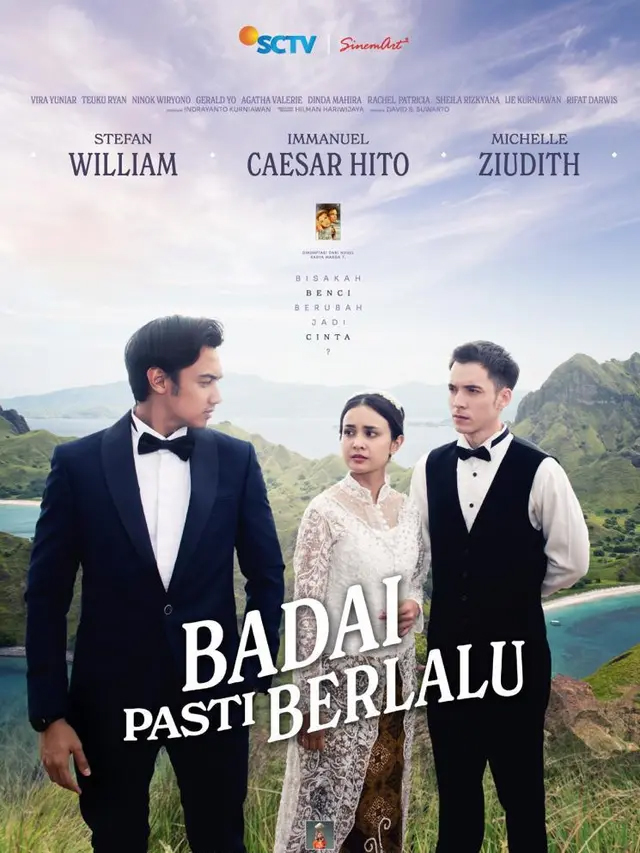 Poster sinetron Badai Pasti Berlalu. (Foto: nyatanya.com/instagram badaipastiberlalu_sinemart)