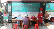 Cara Pemkot Solo melakukan percepatan vaksinasi menggunakan layanan bus keliling. (Foto: nyatanya.com/Humas Jateng)