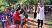 Bupati Sukoharjo Etik melakukan sidak. (Foto:nyatanya.com/Diskominfo Jateng)