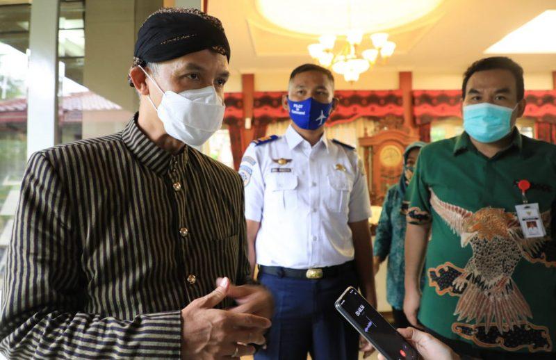 Ganjar Pranowo dalam kunjungannya ke Blora. (Foto:nyatanya.com/Humas Jateng)