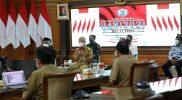 Ganjar Pranowo hadiri Hari Anti Narkoba Internasional (HANI) 2021 di kantornya. (Foto: nyatanya.com/Diskominfo Jateng)