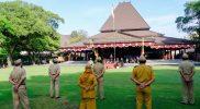 Upacara Perayaan HUT ke-75 Pemkot Surakarta berlangsung khidmad dan segerhana. (Foto:nyatanya.com/Humas Jateng)
