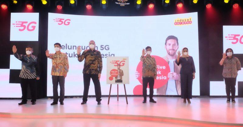 Acara peluncuran jaringan 5 G Indosat Ooredoo di Pendapi Gedhe Balai Kota Surakarta. (Foto:nyatanya.com/Pemkot Surakarta)