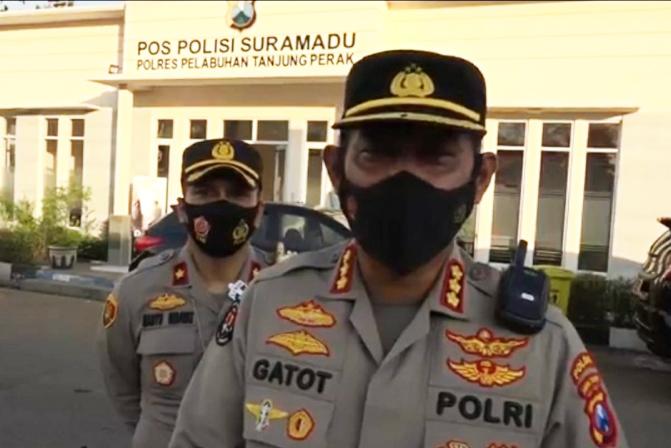 Kabid Humas Polda Jatim, Kombes Pol Gatot Repli Handoko. (Foto:nyatanya.com/jatimprov.go.id)