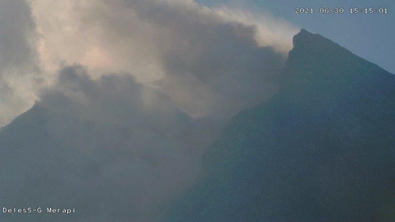 Awan panas guguran Gunung Merapi pukul 15.13 WIB. (Foto: nyatanya.com/BPPTKG)