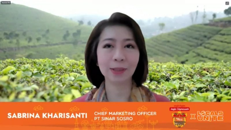 Sabrina Kharisanti, Chief Marketing Officer PT Sinar Sosro. (Foto:nyatanya.com/istimewa)