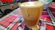 Teh Talua, minuman khas Sumatera Barat. (Foto:nyatanya.com/Ignatius Anto)