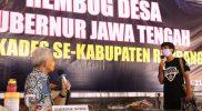 Ganjar Pranowo dan relawan Covid Rangers. (Foto:nyatanya.com/Humas Jateng)