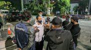 Agus Arif Nugroho memberikan keterangan kepada wartawan. (Foto:nyatanya.com/Humas Pemkot Yogya)