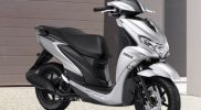 Yamaha FreeGo S Version kini dilengkapi warna baru yang lebih modern, Prestige Silver. (Foto:nyatanya.com/YIMM)