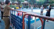 Gibran meninjau tempat isolasi mandiri terpusat di SMP 8 Surakarta. (Foto:nyatanya.com/Humas Surakarta)