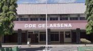 Gedung Olahraga Gelarsena Klaten kini disiapkan sebagai tempat isolasi terpusat. (Foto:nyatanya.com/Humas Klaten)