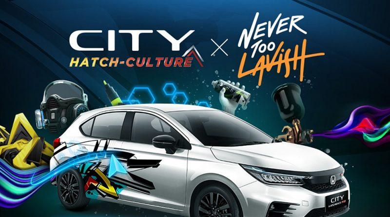 "Kompetisi ""City Hatch Art"". (Foto:nyatanya.com/honda-indonesia)"