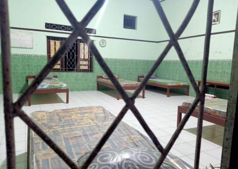 Tempat isolasi terpusat ini terwujud berkat gotong-royong para Kades di Kecamatan Karangdowo, Klaten. (Foto:nyatanya.com/Diskominfo Klaten)