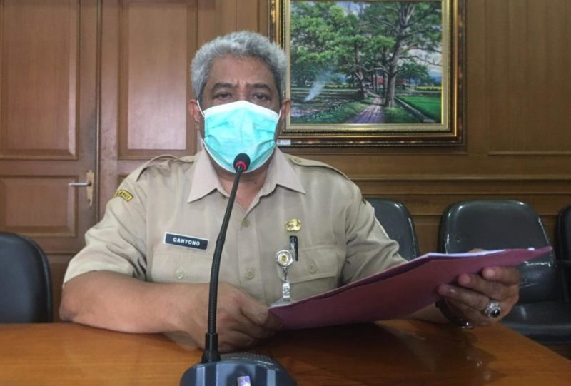 Kepala Dinas Kesehatan Kabupaten Klaten, Cahyono Widodo. (Foto:nyatanya.com/Humas Klaten)