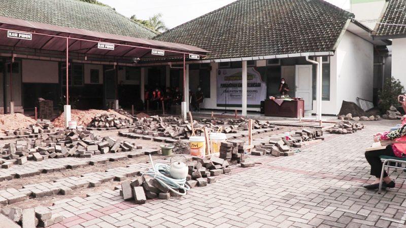 Acara peletakan batu pertama pembangunan gedung Kejaksaan Temanggung. (Foto:nyatanya.com/Diskominfo Temanggung)