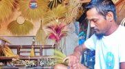 'Fahrudin Sapu' kini tak melulu membuat sapu lantai. Produk hiasan pun menjadi andalan. (Foto:nyatanya.com/Humas Pemkab Magelang)