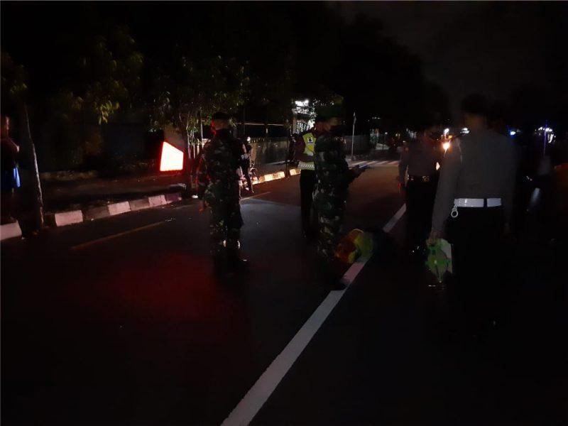 Tindak kejahatan jalanan di Jalan AM Sangaji, Jetis, Yogyakarta (Foto: dokumentasi Kodim 0734/Yogyakarta)