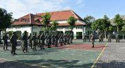 Serah terima Pasukan BKO di Makodim 0734/Kota Yogyakarta, Minggu (4/7/2021).(Foto:nyatanya.com/istimewa)