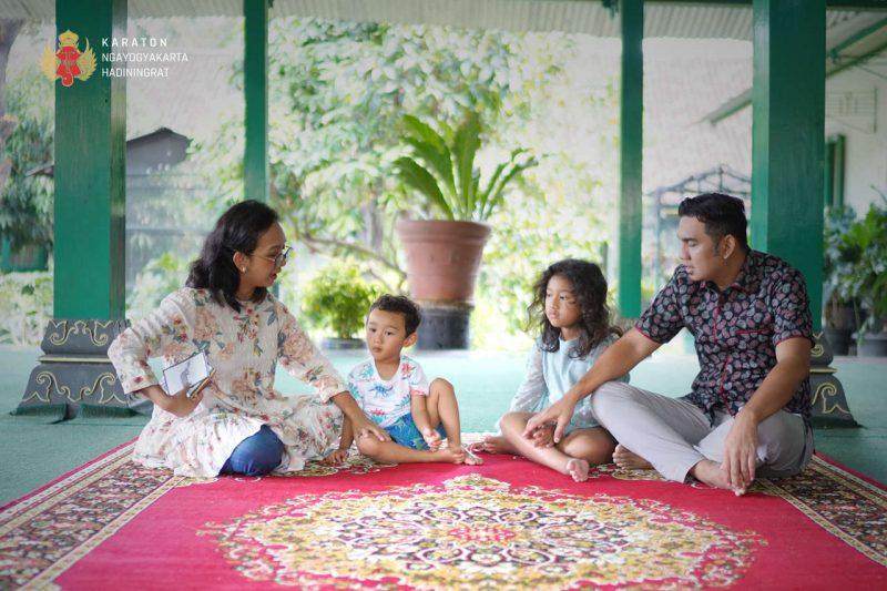Keraton Yogyakarta menghadirkan Rubrik Tamanan sebagai bentuk Kepedulian Keraton Yogyakarta terhadap pendidikan anak. (Foto:nyatanya.com/kratonjogja.id)