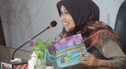 Christanti Zaenal Arifin menggelar 'Bunda PAUD Mengajar' dengan membacakan dongeng bagi anak-anak. (Foto:nyatanya.com/Diskominfo Magelang)