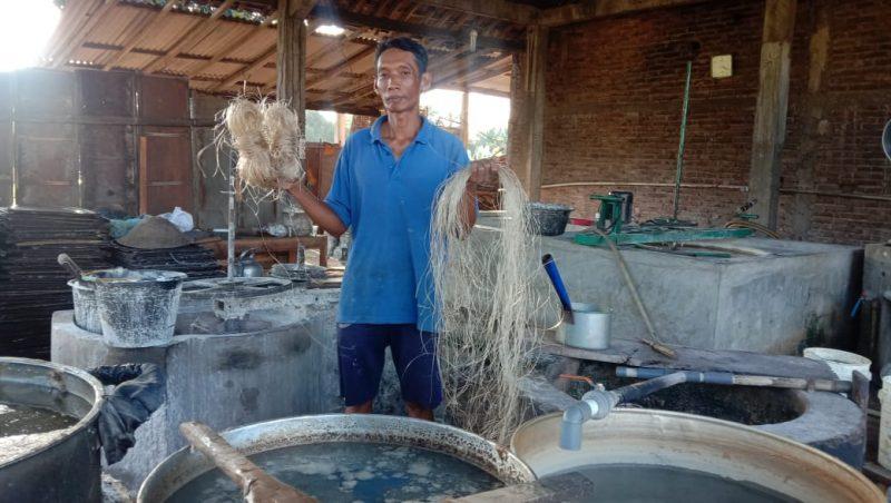 Usaha rumahan mie lethek tetap bertahan di tengah pandemi Covid-19. (Foto:nyatanya.com/Humas Magelang)