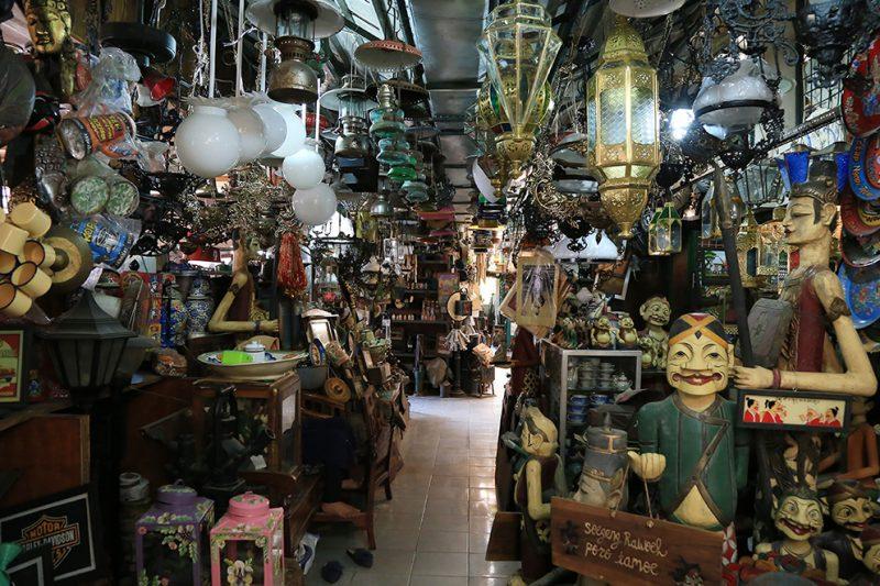 Pasar Triwindu Solo. (Foto:nyatanya.com/Dinas Pariwisata Solo)