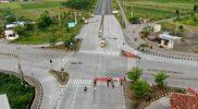Suasana Kota Pekalongan selama PPKM Level 4. (Foto:nyatanya.com/Diskominfo Pekalongan)