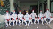 Tim Pitulungan siap pemakaman jenazah Covid-19 di Kota Yogyakarta. (Foto:nyatanya.com/Humas Yogya)