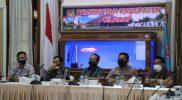 Rapat Koordinasi bersama Direktur Rumah Sakit se-Kabupaten Cilacap, Kamis (15/7/2021). (Foto:nyatanya.com/Diskominfo Cilacap)