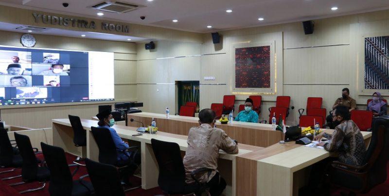 Sosialisasi Pemotongan dan Pengawasan Hewan Kurban Dinas Pertanian dan Pangan Kota Yogyakarta. (Foto:nyatanya.com/Humas Pemkot Yogya)