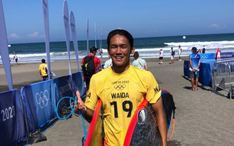 Rio Waida lolos babak 16 besar dan akan berjibaku man-to-man menghadapi tuan rumah Kanoa Igarashi besok. (Foto:nyatanya.com/nocindonesia)