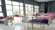 Rumah sakit darurat yang disiapkan Pemkot Magelang. (Foto:nyatanya.com/Humas Pemkot Magelang)