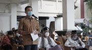 Wali Kota dan Tokoh Lintas Agama di Salatiga menggelar doa bersama. (Foto:nyatanya.com/Diskominfo Salatiga)