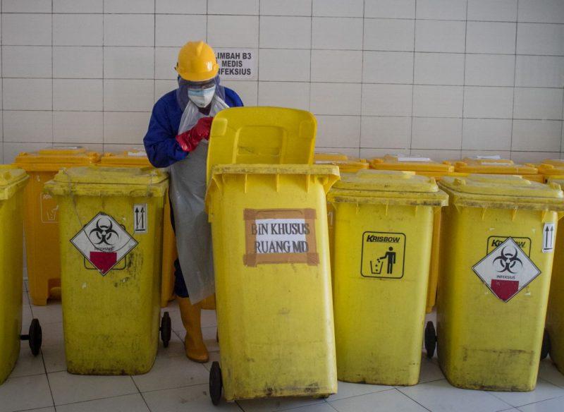 Pengelolaan sampah infeksius ini sudah ada SOP-nya. (Foto: nyatanya.com/kominfo Wonogiri)