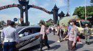 Penyekatan di perbatasan Magelang-DIY makin diperketat. (Foto:nyatanya.com/Humas Magelang)