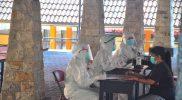 Menjalani isolasi terpusat, lebih terkontrol pasien daripada isoman di rumah. (Foto:nyatanya.com/Diskominfo Jateng)