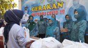 Posko Satgas Covid-19 Purbalingga bangun dapur umum melayani warga yang melakukan isoman. (Foto:nyatanya.com/Humas Purbalingga)
