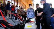 Menteri Pertanian RI, Syahrul Yasin Limpo saat kunjungan kerja di Surakarta. (Foto: Humas Surakarta)