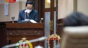 Gubernur DIY Sri Sultan Hamengku Buwono X dalam Rapat Paripurna. (Foto:nyatanya.com/Humas Pemda DIY)
