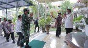 Gubernur DIY Sri Sultan Hamengku Buwono X menggelar pertemuan Panglima TNI, Marsekal TNI Hadi Tjahjanto. (Foto:nyatanya.com/Humas Pemda DIY)