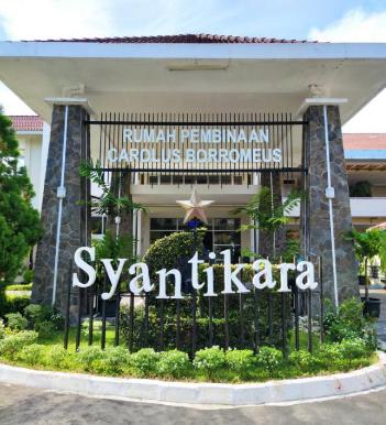 Rumah Pembinaan Carolus Borromeus (RPCB) Syantikara. (Foto:nyatanya.com/istimewa)