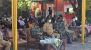 Mayor Arh Asil Harjanta hadiri launching Jogja Merdeka Vaksin. (Foto: nyatanya.com/zainuri arifin)