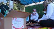 Ribuan telur rebus siap dibagikan kepada nakes dan relawan Covid-19. (Foto:nyatanya.com/Diskominfo Jateng)